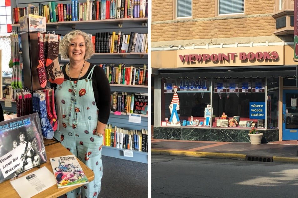 Viewpoint Books, the perfect little bookshop