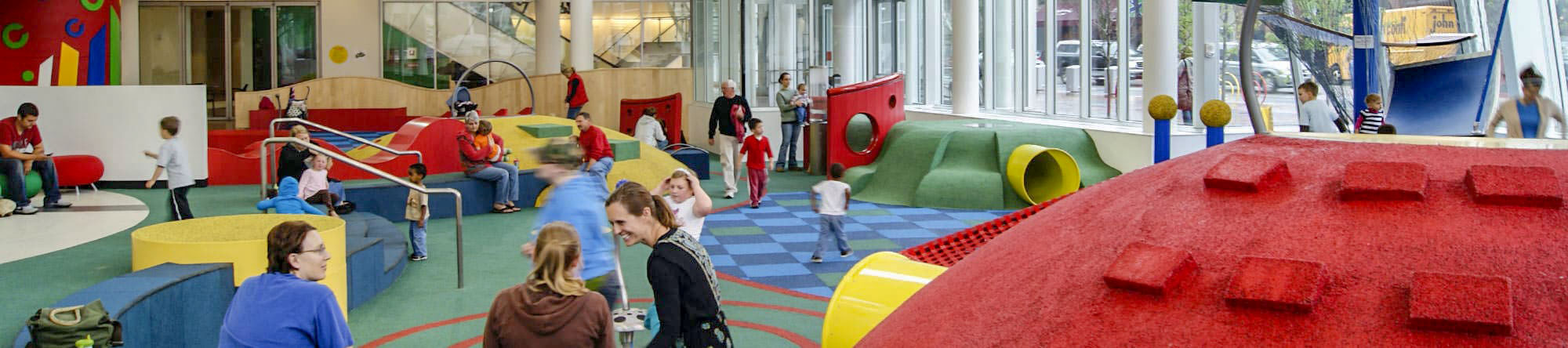 The Commons free, public playground - Columbus, Indiana