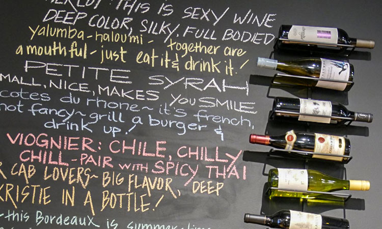 savory-swine-wine-display