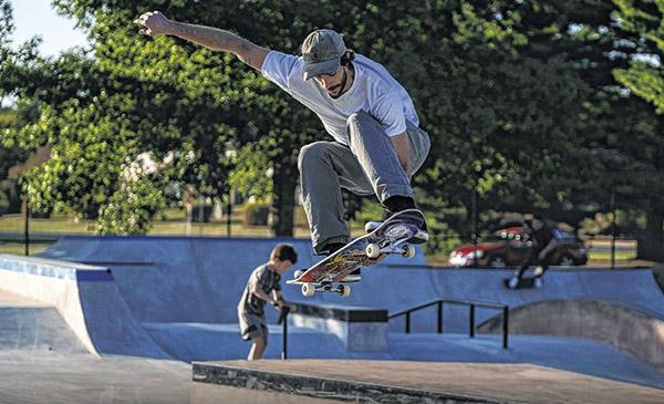 First skatepark design in the U.S. by Finnish designer Janne Saario