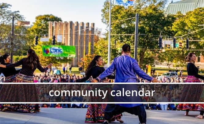 link to community calendar