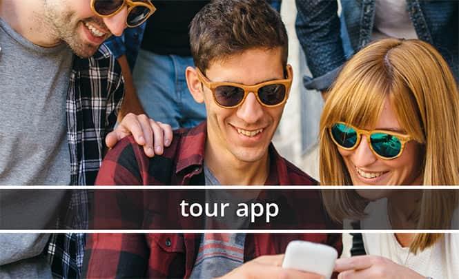 link to tour app