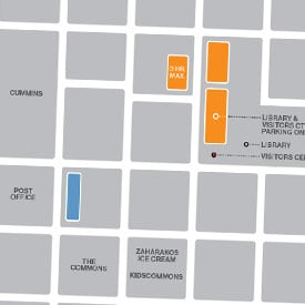 it's a link to downtown parking guide
