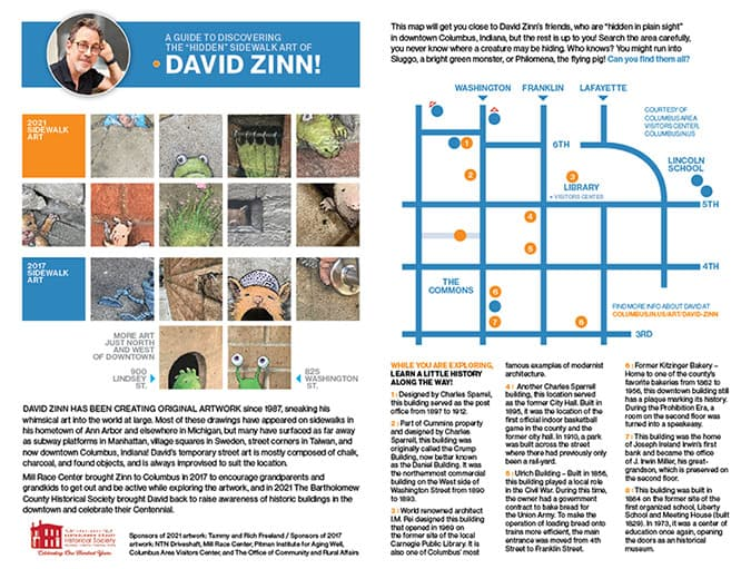 guide to david zinn art