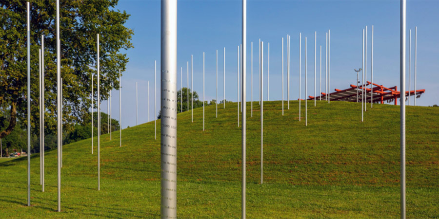 Exhibit Columbus installation